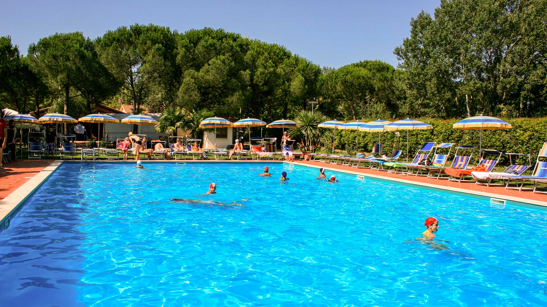 Swimmingpool at Badiaccia Camping Village